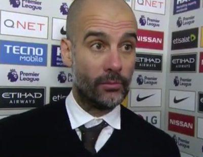 """Pep Guardiola, en su entrevista más tensa para BBC: """"Tú eres el periodista, no yo"""""""