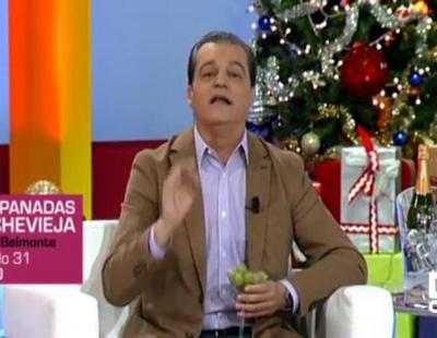 Ramón García anuncia que verá las Campanadas 2016-2017 en la televisión autonómica de Castilla-La Mancha