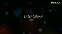In Memoriam 2016: Las muertes más importantes de las series del 2016