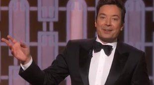 Jimmy Fallon y el fallo del teleprompter en los Globos de Oro 2017