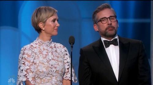 Lo más divertido de los Globos de Oro: Steve Carell y Kristen Wiig relatan su recuerdo más trágico