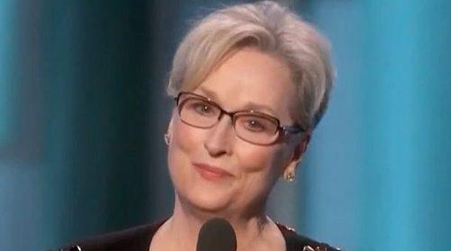 El discurso de Meryl Streep en los Globos de Oro 2017 (español) que ha molestado a Donald Trump