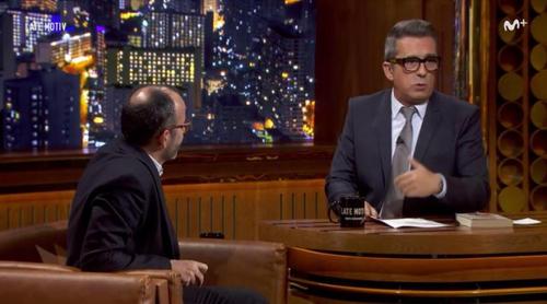 """Buenafuente deja en evidencia a un invitado: """"Nunca me habían mandado toda la entrevista hecha"""""""