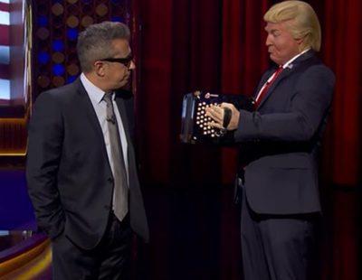 'Late Motiv': Donald Trump reconoce en el programa que quiere hacer ministro a Eduardo Inda