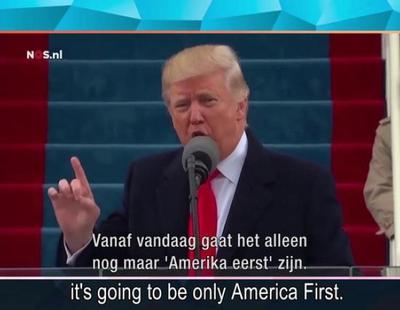 El divertido y paródico vídeo con el que un programa holandés da la bienvenida a Donald Trump como presidente