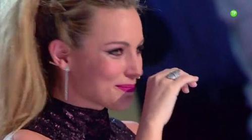 Edurne rompe a llorar de la emoción en el avance del tercer programa de la segunda temporada de 'Got Talent'