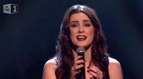 """Lucie Jones interpreta """"Never Give Up on You"""", la canción de Reino Unido para Eurovisión 2017"""