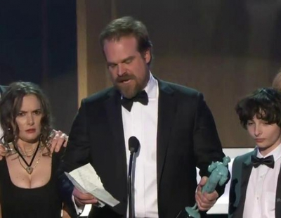 El emotivo discurso de los actores de 'Stranger Things' en los SAG Awards 2017