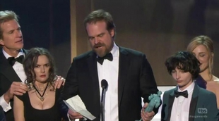 El emotivo discurso de los actores de 'Stranger Things' en los SAG Awards 2017