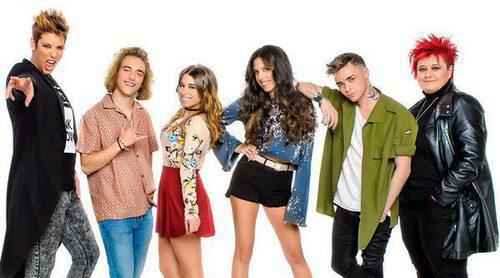 Los seis aspirantes de 'Objetivo Eurovisión' protagonizan la primera promo del programa