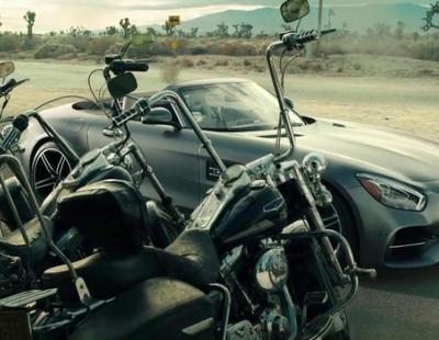 """El anuncio de Mercedes para la Super Bowl 2017 rinde homenaje a la película """"Easy Rider"""""""