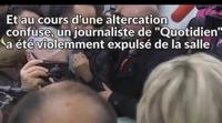 Los guardaespaldas de Marine Le Pen agreden a un equipo de televisión por una pregunta incómoda