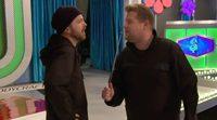 Aaron Paul se cuela en el plató de 'El precio justo' con James Corden