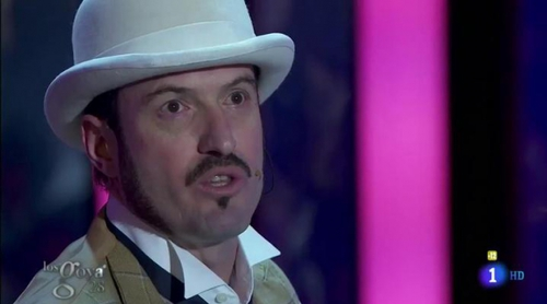 Número musical de Alex O'Dogherty en los premios Goya 2014