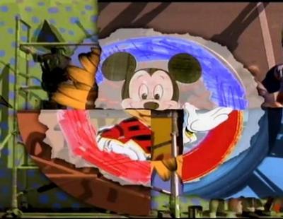 Cabecera de la temporada 6 de 'Mickey Mouse Club' con Ryan Gosling y Christina Aguilera