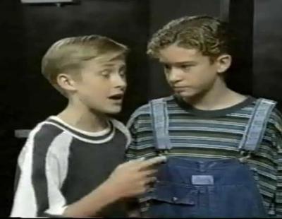 Intro del 'Mickey Mouse Club' con Justin Timberlake y Ryan Gosling actuando
