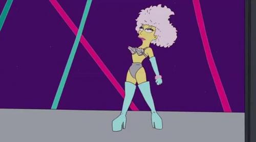 'Los Simpson' ya predijeron la actuación de Lady Gaga en la Super Bowl 2017
