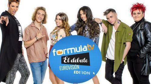 'FormulaTV: El Debate': ¿Qué candidato debería representar a España en Eurovisión 2017?