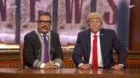 """'Late Motiv': Andreu Buenafuente y Donald Trump presentan el informativo mexicano """"Wall News"""""""