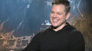 Matt Damon sorprende cantando una cumbia en español en una entrevista en Argentina