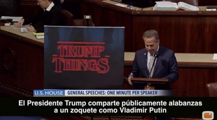 Un congresista americano compara a Trump con 'Stranger Things'
