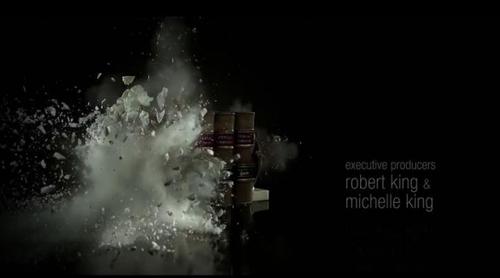 La explosiva cabecera de 'The Good Fight'
