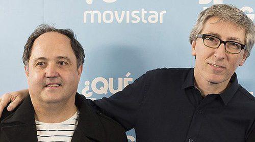 """Antuña y Trueba ('QFDJS'): """"El humor de la serie es muy salvaje en una España donde este es muy blanco"""""""