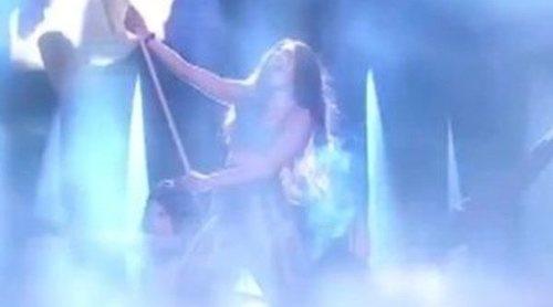 Primeras imágenes de los ensayos de Loreen con 'Statements' en el Melodifestivalen 2017