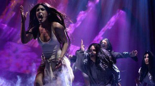 Así fue la actuación de Loreen en el Melodifestivalen 2017 con el tema 'Statements'