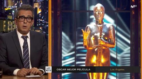 La pullita de Buenafuente a Javier Cárdenas a traves de un Oscar