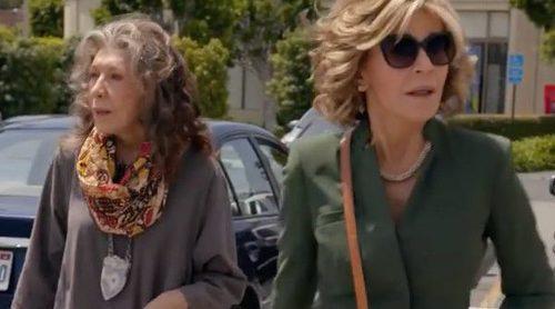 Tráiler de 'Grace and Frankie': Las protagonistas emprenden un negocio de vibradores en la tercera temporada