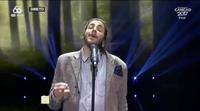 """Salvador Sobral interpreta """"Amar pelos dois"""", la canción de Portugal para Eurovisión 2017"""