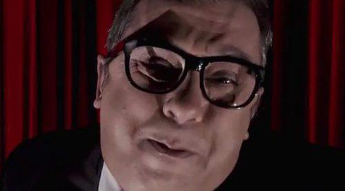 'Late Motiv': Andreu Buenafuente, amenazado de muerte por un peculiar Luis Tosar en una nueva parodia