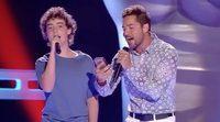 'La Voz Kids 3': Un joven aspirante protagoniza un memorable dúo con David Bisbal