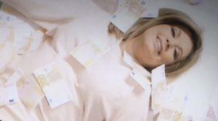 'Las Campos': Terelu se reboza en montones de billetes en el sexto capítulo
