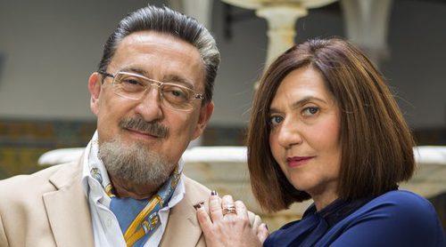 """Ane Gabarain y Mariano Peña ('Allí abajo'): """"Gusta la relación entre Maritxu y Benito porque es otra cosa"""""""