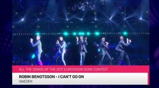 'Eurovisión 2017': vídeo resumen con las 43 canciones que compiten en el certamen