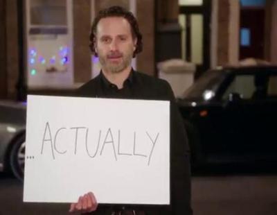 """""""Red Nose Day Actually"""": Tráiler de la minisecuela de """"Love actually"""" protagonizada por Andrew Lincoln"""