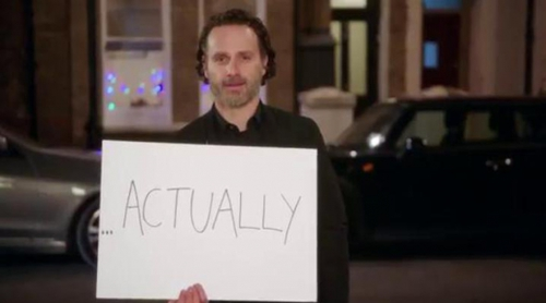 """Red Nose Day Actually"": Tráiler de la minisecuela de ""Love actually"" protagonizada por Andrew Lincoln"