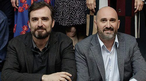"""Jorge y Alberto Sánchez Cabezudo ('La zona'): """"No se ha valorado en su medida a la ficción española"""""""