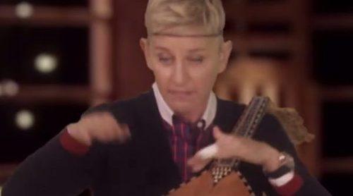 "Ellen DeGeneres ""participa"" en una cover junto a los coaches de 'The Voice'"