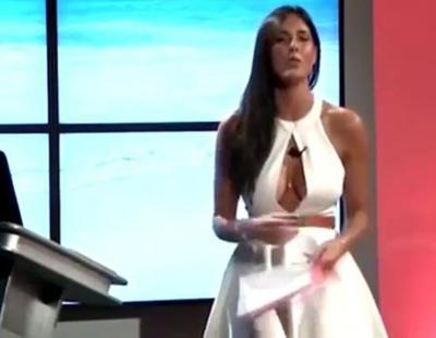 El desliz de una presentadora italiana al hablar de Cristiano Ronaldo que se ha hecho viral un año después