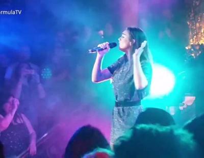"London Eurovision Party 2017: Alma (Francia) versiona ""Poupée de cire, poupée de son"""