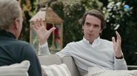 'Mi casa es la tuya': Bertín Osborne pregunta a José Mª Aznar si va a fundar un partido nuevo