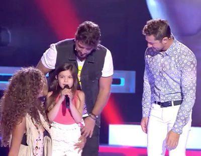 'La Voz Kids 3': Kely, de 9 años, emociona a los coaches y consigue que se giren in extremis