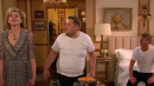 'The Late Late Show': James Corden parodia escenas de telenovelas con letras de canciones de Katy Perry