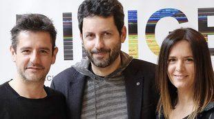 """Así fue el reencuentro de Eva Santolaria y Antonio Hortelano de 'Compañeros': """"Se están cociendo cosas"""""""