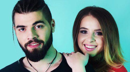 """Ilinca y Alex Florea: """"Tenemos más presión porque necesitamos un buen regreso de Rumanía a Eurovisión"""""""