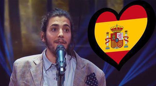 """Eurovisión 2017: Salvador Sobral hace una versión flamenca de """"Amar Pelos Dois"""""""
