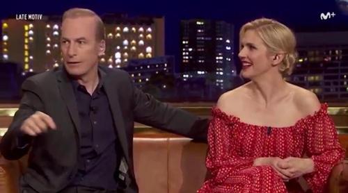 """Buenafuente a Bob Odenkirk en 'Late Motiv': """"En España nos parece que 'Better Call Saul' es un documental"""""""